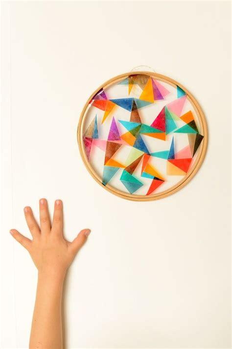 sun diy diy geometric sun catcher craft ideas pinterest