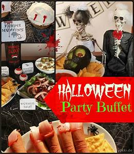 Halloween Party Ideen Erwachsene : party deko tolle ideen f r gruseliges essen zur halloween party ~ Frokenaadalensverden.com Haus und Dekorationen