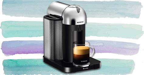 If you have friends over for dinner, or you occasionally work from home, nespresso coffee machines are handy to have around. Nespresso's Vertuo coffee and espresso machine is 50% off on Amazon