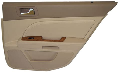 cadillac sts  rear door panel cashmere