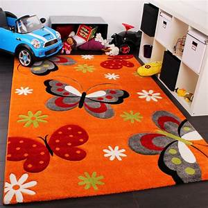 tapis pour enfant motif papillon chambre d39enfant en With tapis pour chambre d enfant