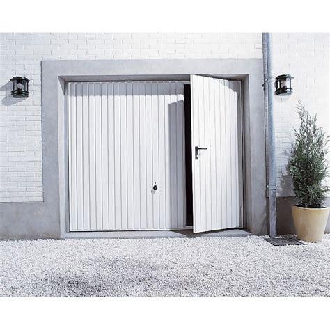 tablier de cuisine blanc pas cher porte de garage basculante manuelle h 200 x l 240 cm avec