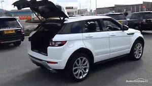 Range Rover Evoque Sd4 : land rover range rover evoque sd4 dynamic lux white 2014 youtube ~ Medecine-chirurgie-esthetiques.com Avis de Voitures