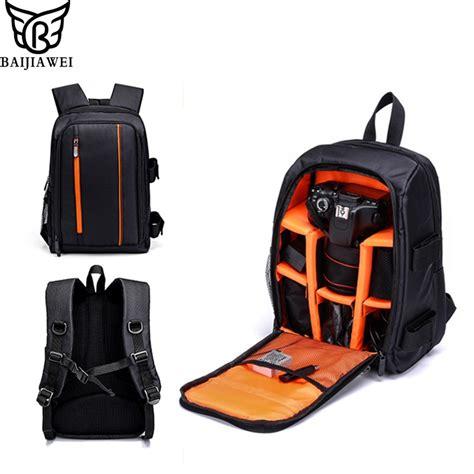 baijiawei dslr backpack waterproof camera video bag