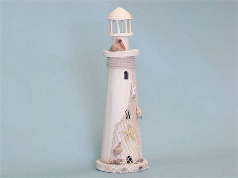 pelican wooden lighthouse inch lighthouse decorations garden lighthouse nautical wall decor