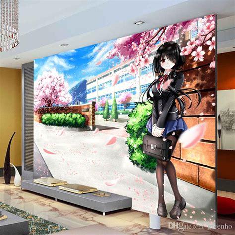 Anime Mural Wallpaper - custom 3d photo wallpaper japanese anime wallpaper fate