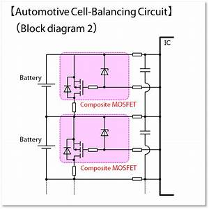 Mosfets For Automotive Battery Cell Balancing