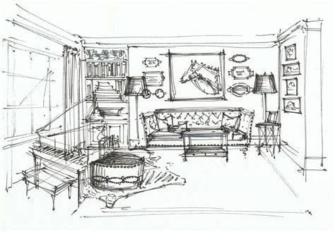 20 Best Interior Sketches Floor Plans & Renderings Images