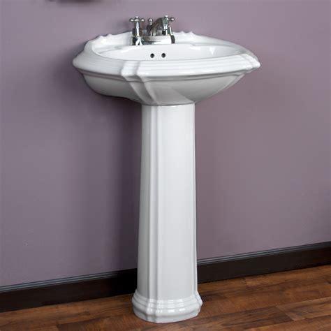 Pedestal Sink Bathroom by Regent Pedestal Sink