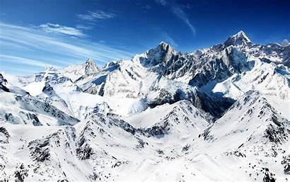 Snow Mountains Wallpapers Backgrounds Paos Tag