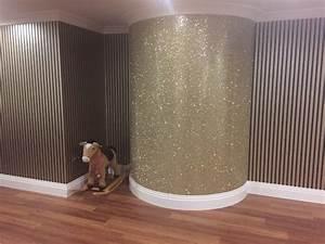 Glitter Wallpaper / Inspiration & Design Blog