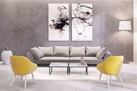 Ideas Of Large Wall Art For Living Room Doherty Living