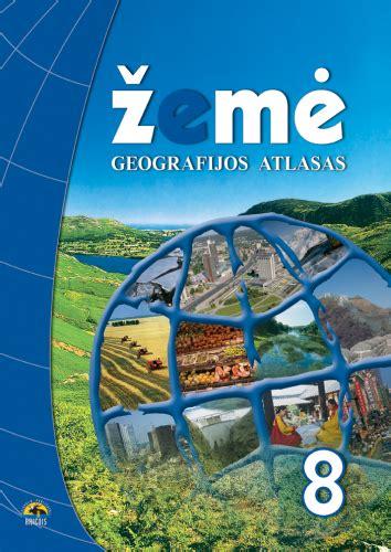 Žemė 8. Geografijos atlasas 8 klasei - Knygos.lt