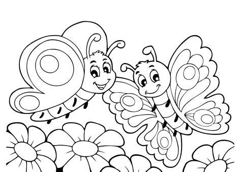 At At Kleurplaat by Kleurplaten Vlinders 26 Gratis Kleurplaten Voor Kinderen