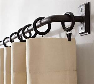 PB Essentials Drape Rod - Traditional - Curtain Rods - by