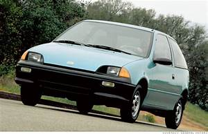 10 Most Fuel Efficient Cars Since 1984 - 1990-94 Geo Metro Xfi  4
