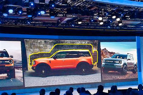 leaked images show   ford mini bronco