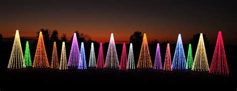 Red And White Led Christmas Lights by Commercial Outdoor Christmas Tree Decorations Colorful