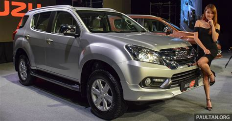Isuzu Mux Modification by Isuzu Mu X Type S Launched In Malaysia Rm176 640