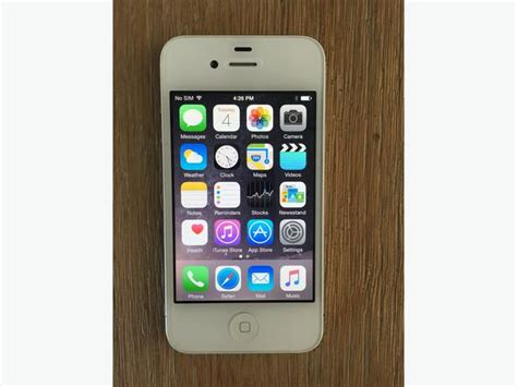 iphone 4s 8gb iphone 4s white 8gb bell