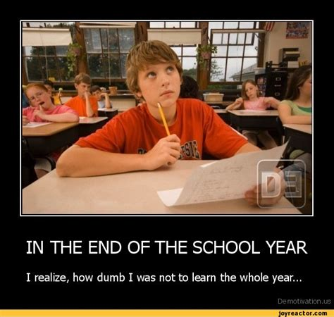 End Of School Quotes Funny