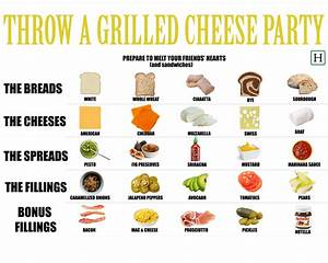 Soup Classification Chart How To Throw A Grilled Cheese Party The Only Kind Of