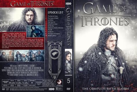 game  thrones season  dvd custom cover custom dvd
