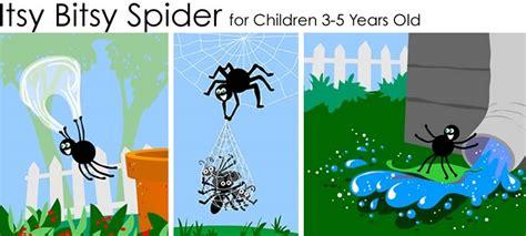 Itsy Bitsy Spider Clip Art