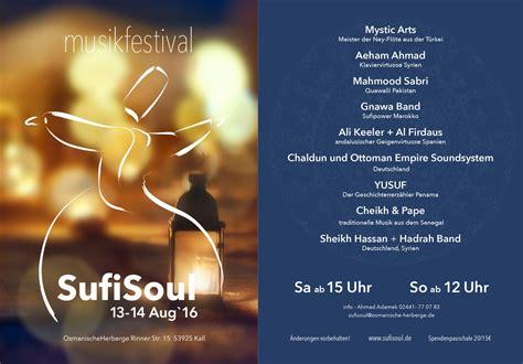das sufisoul festival konzerte  der osmanischen herberge
