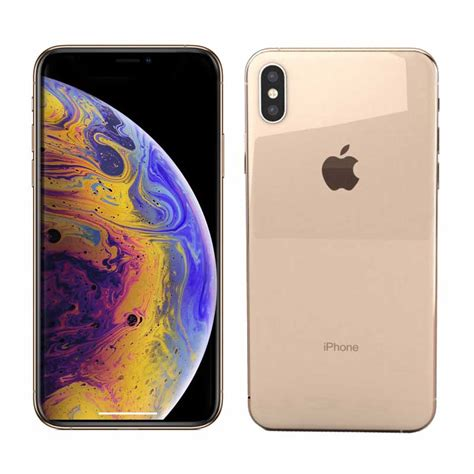 apple iphone xs max gold 64gb smartphone ansons