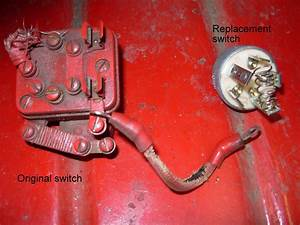 Tractor Stories  Farmall Cub Switch Replacement