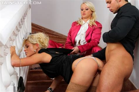 Set Rachel La Rouge And Sweet Cat Fully Clothed Sex