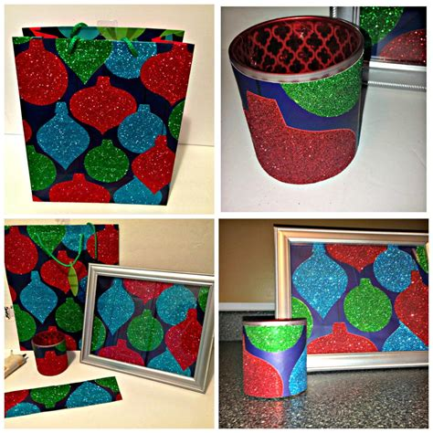 beautiful christmas gifts from recycled gift bags