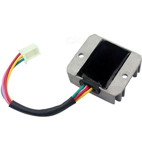 Wires Voltage Regulator Rectifier Motorcycle Boat Motor