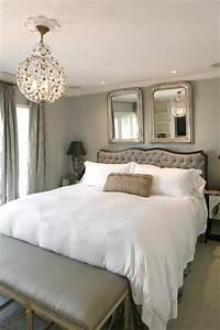 30, Adorable, Master, Bedroom, Chandelier, Design, Ideas, 41