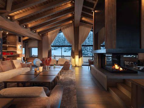 ambiance chambre adulte chalet de luxe 5 étoiles la bergerie décoration maison