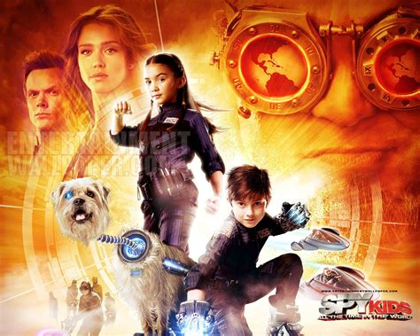 review spy kids time world vincent