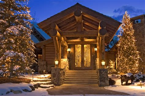 rustic log home rustic exterior denver by 186