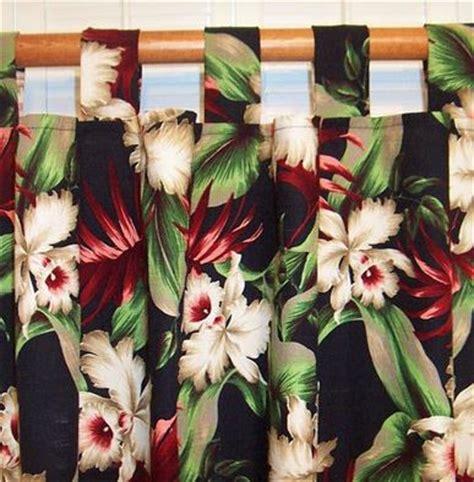 Hawaiian Curtains Drapes - tropical curtains for your hawaiian home the hawaiian home
