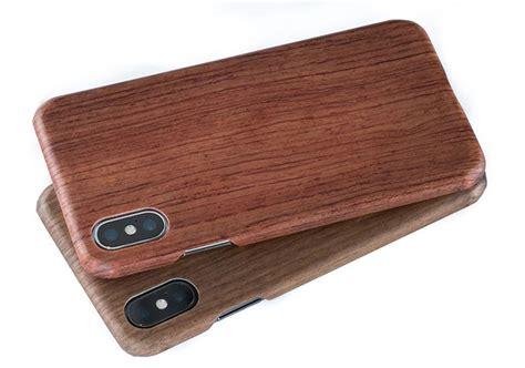 wood iphone woodline worlds strongest slimmest wooden iphone x