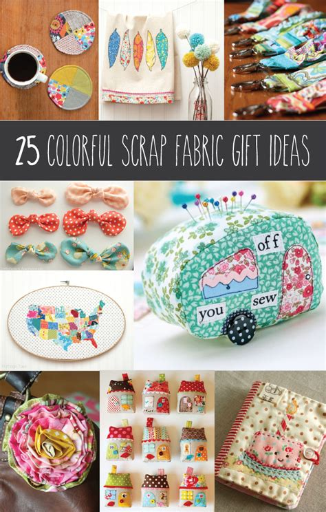colorful scrap fabric ideas