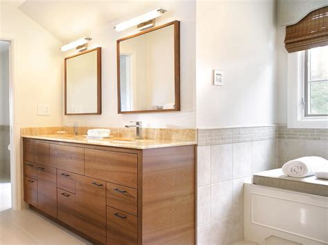 Modern Style Bathroom Mirrors by Inspiring Stylish Bathroom Mirrors Ideas With Brown Wooden