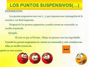 Los Signos De Puntuaci U00d3n Los Dos Puntos Y Los Puntos