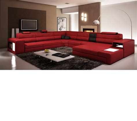 polaris italian leather sectional sofa dreamfurniture com polaris italian leather sectional