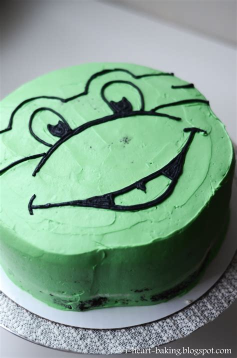 heart baking teenage mutant ninja turtle cake