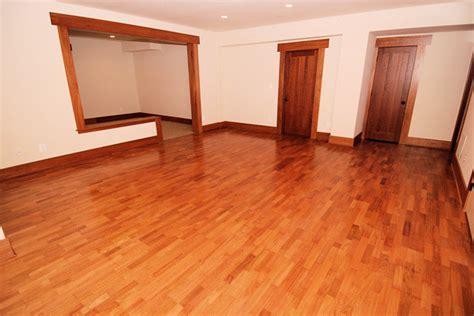 Brazilian Cherry Flooring Prefinished    Clear