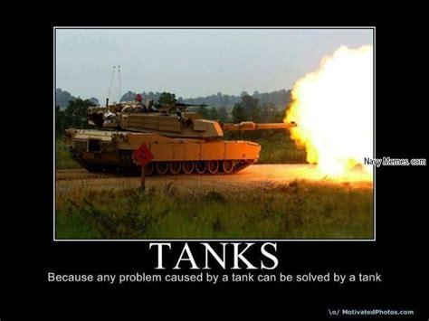 Tank Memes - tanks solving tank problems navy memes clean mandatory fun