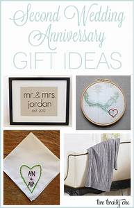 Second anniversary gift ideas for 2nd wedding anniversary gift ideas