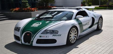 Dubai's Impressive Police Fleet
