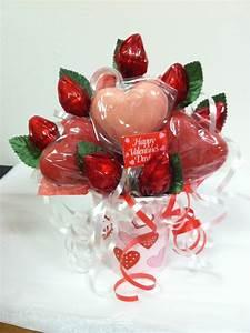 Valentine's Day Candy bouquet | Valentines Day | Pinterest ...